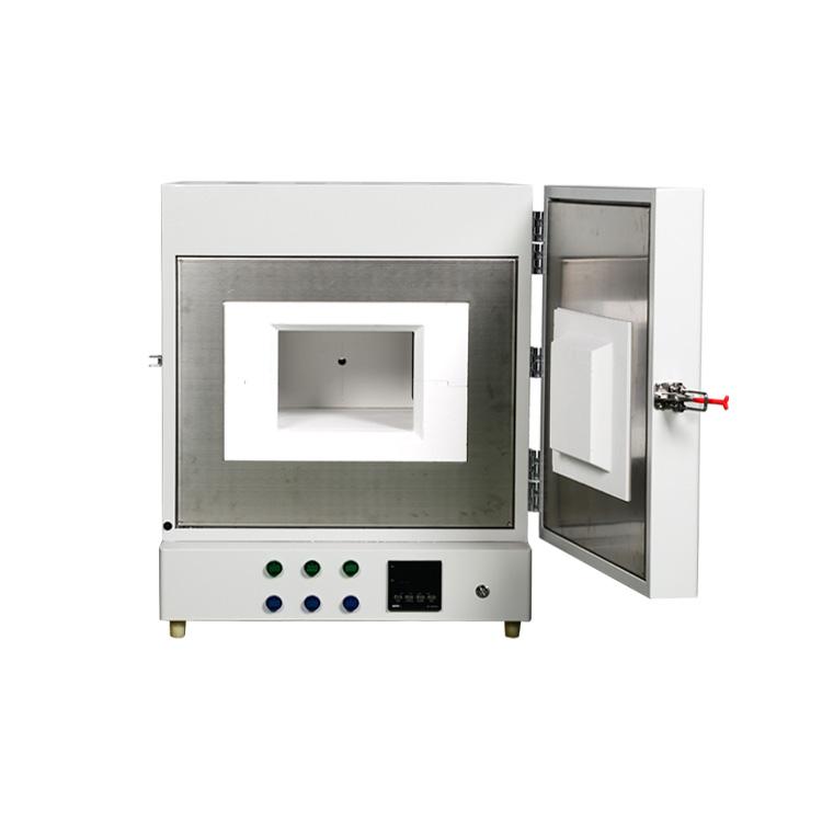 厂家直销一体式马弗炉陶瓷纤维炉膛大屏数显快速升温热处理设备